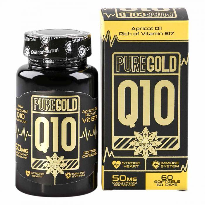 Pure Gold Q10 60caps