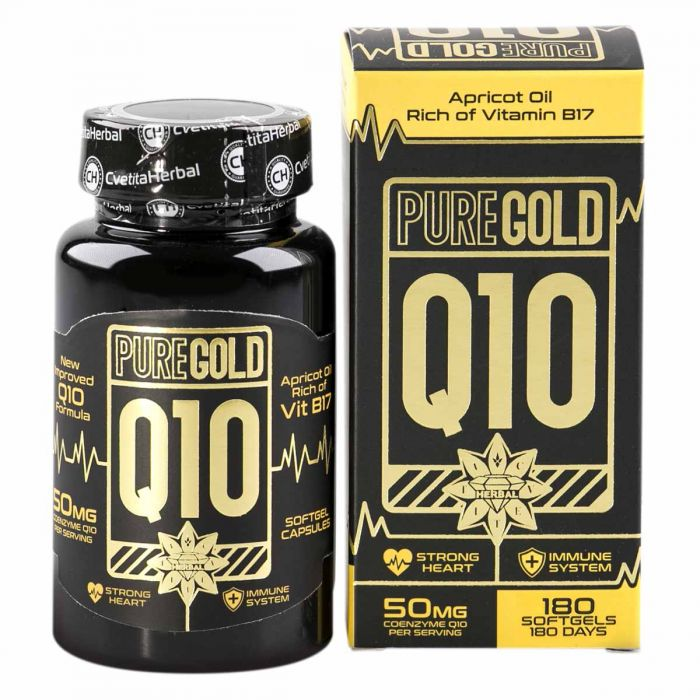 Cvetita Herbal Pure Gold Q10 180caps