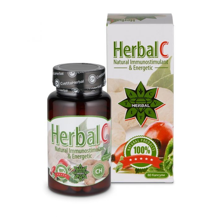 Cvetita Herbal Herbal C 80caps