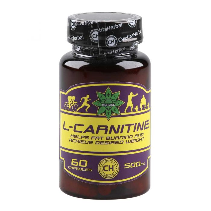 Cvetita Herbal L-carnitine 60caps