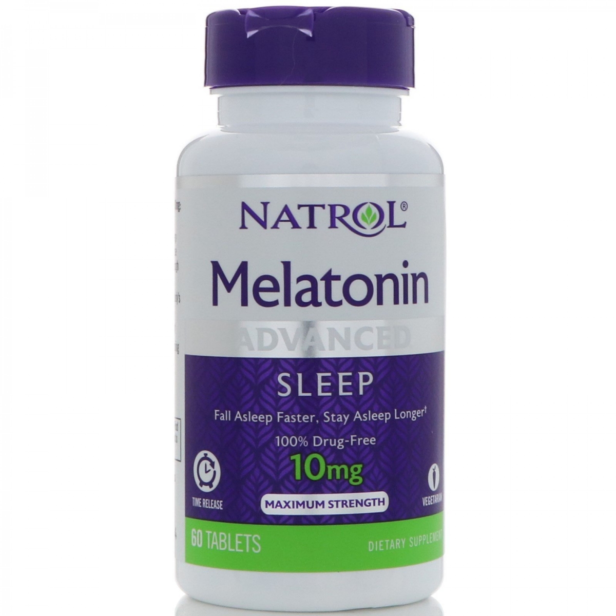 Natrol Advanced Sleep Melatonin 10mg 60tabs
