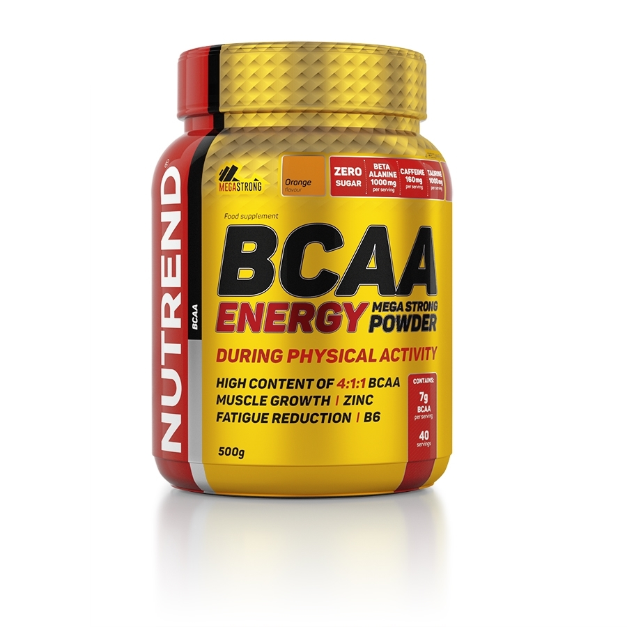 Nutrend Bcaa Energy Mega Strong 500g
