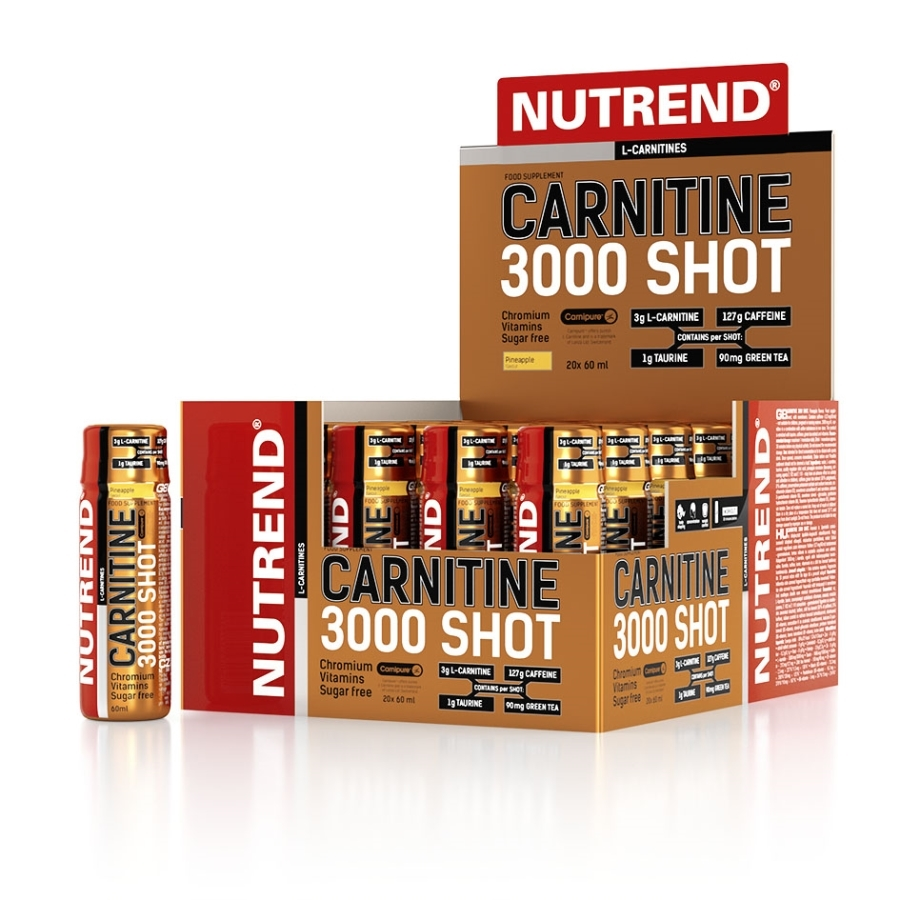 Nutrend Carnitine 3000 Shot 20x60ml