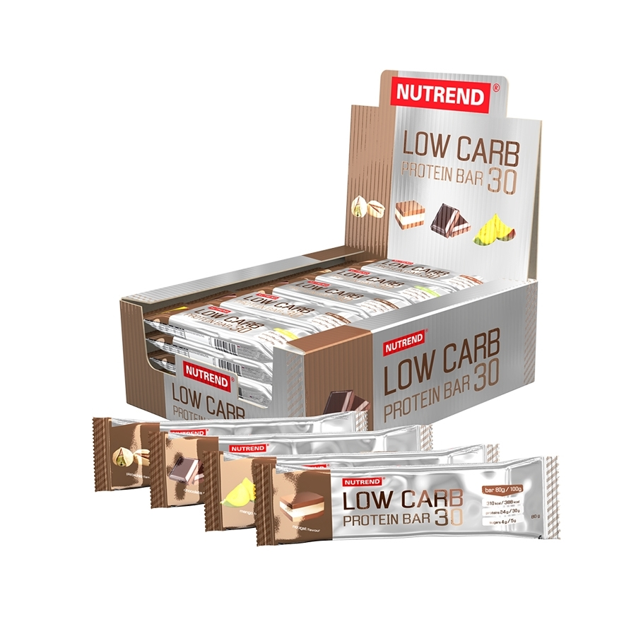 Nutrend Low Carb Protein Bar 30 24x80g