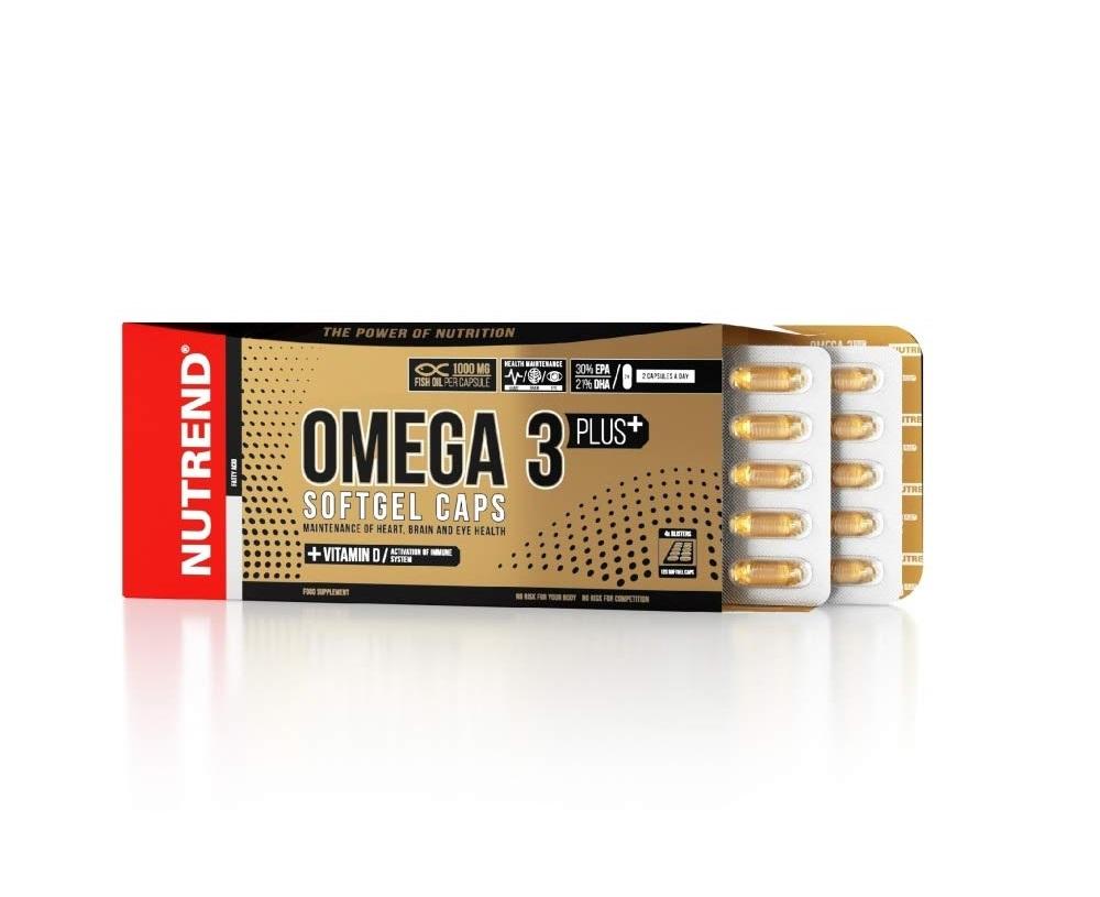 Nutrend Omega 3 Plus 120caps