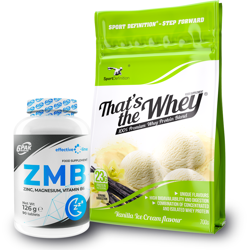 Sport Definition That′s The Whey 700g + Effective Line Zmb