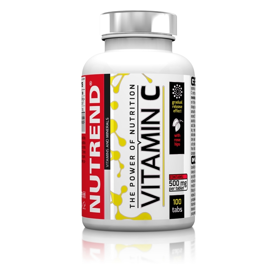 Nutrend Vitamin C With Rose Hips 100tabs