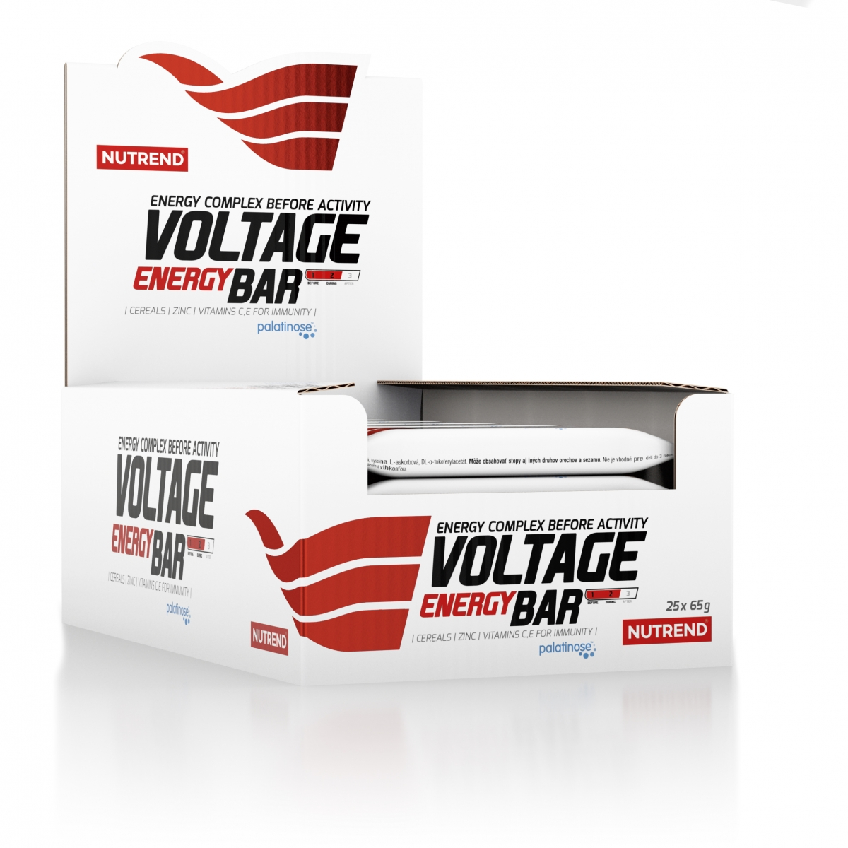 Nutrend Voltage Energy Bar 25x65g