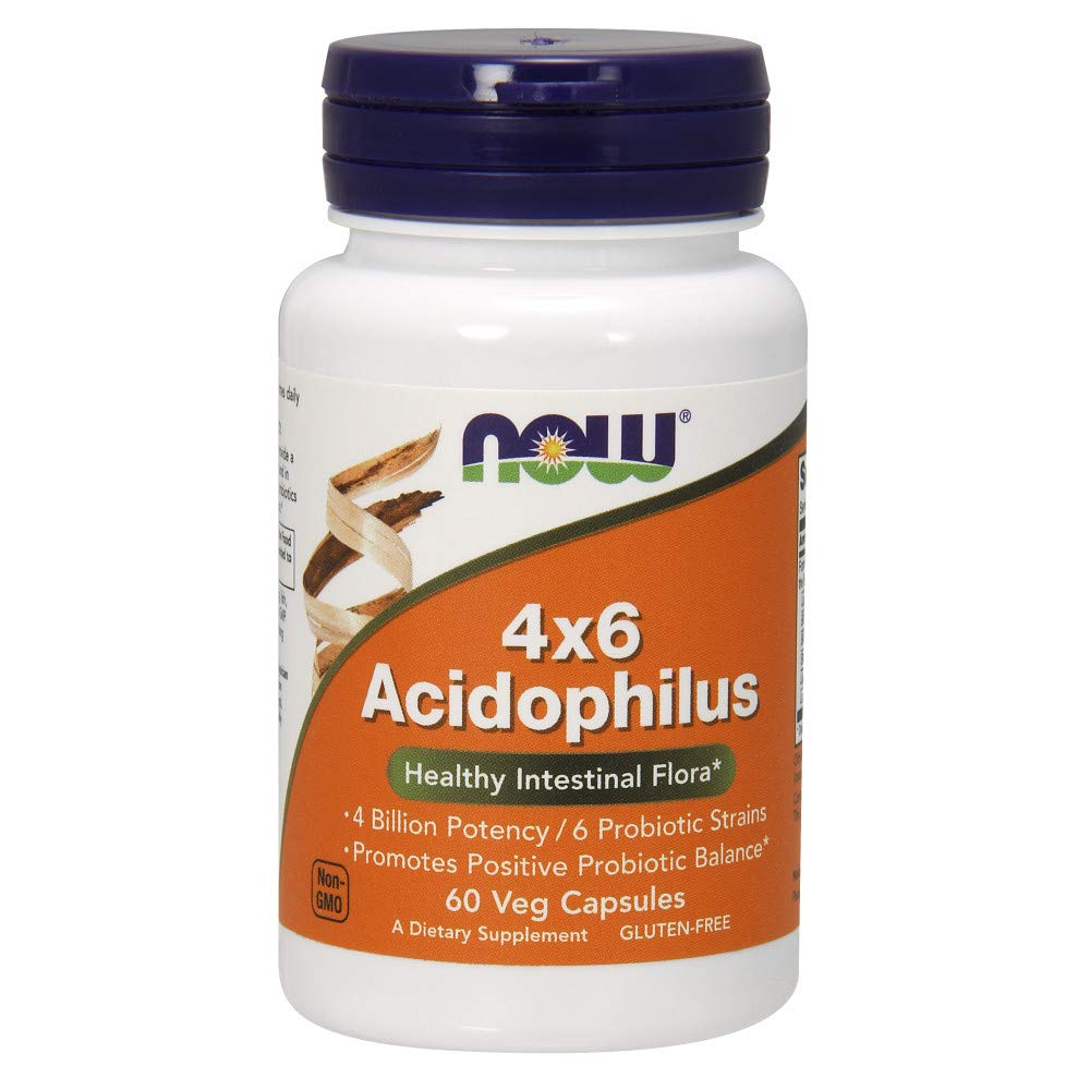 NOW Acidophilus 4x6 60caps