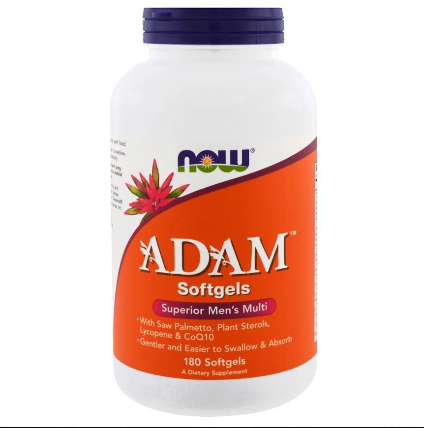 NOW Adam Men′s Vitamins 180softgels
