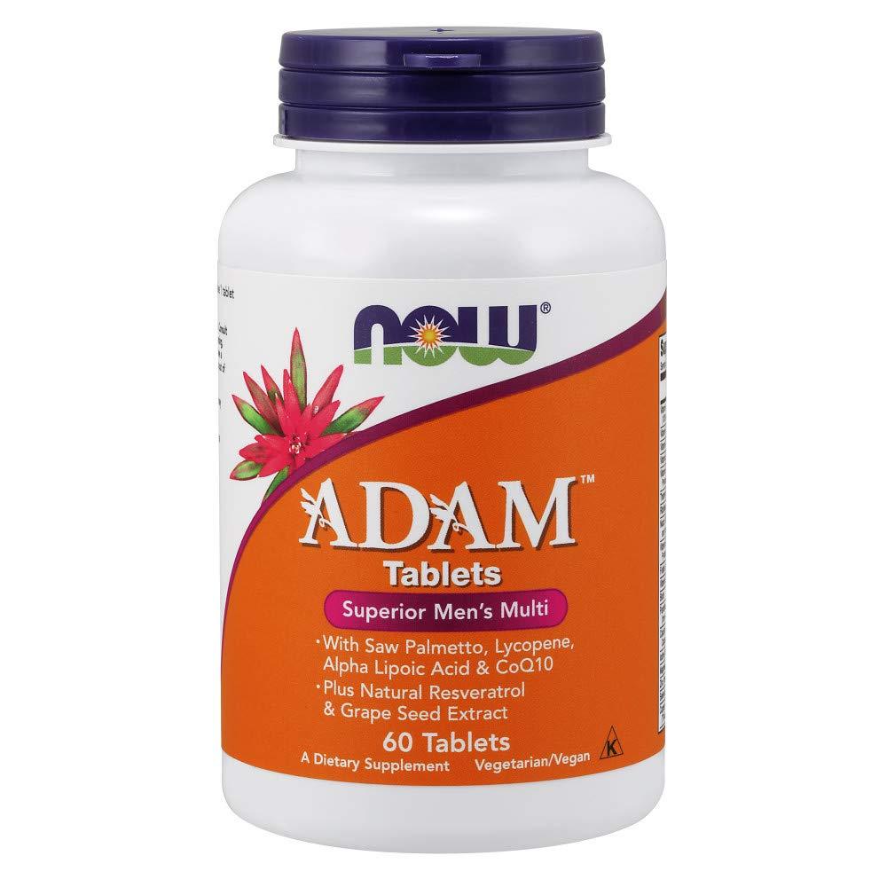 NOW Adam Men′s Vitamins 60tabs