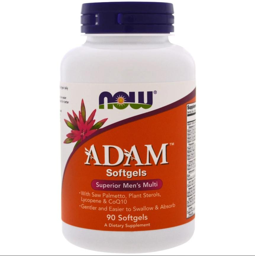 NOW Adam Men′s Vitamins 90softgels