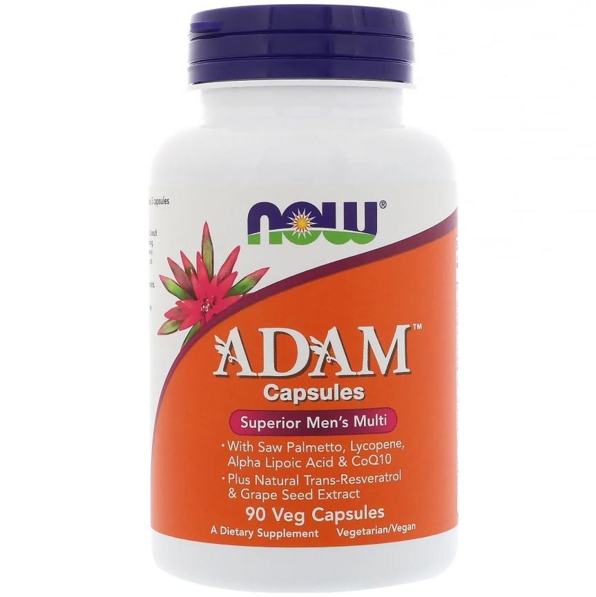 NOW Adam Men′s Vitamins 90caps