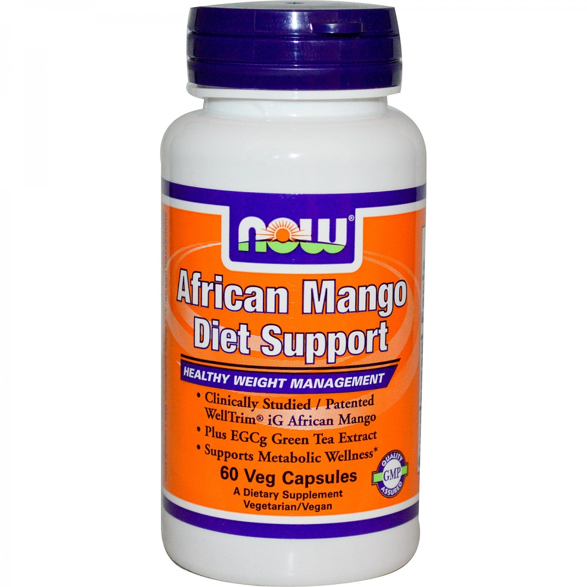 NOW African Mango Diet Support 60caps