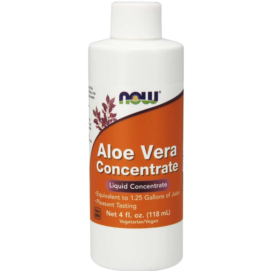 NOW Aloe Vera Concentrate 118ml