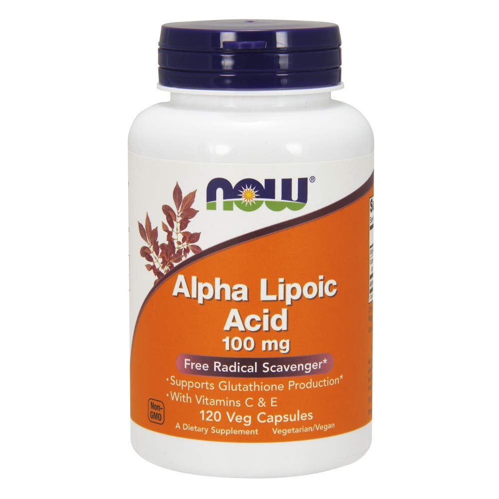 NOW Alpha Lipoic Acid 100mg 120caps