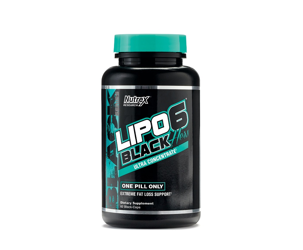 Nutrex Research Lipo 6 Black Hers Ultra Concentrate 60caps