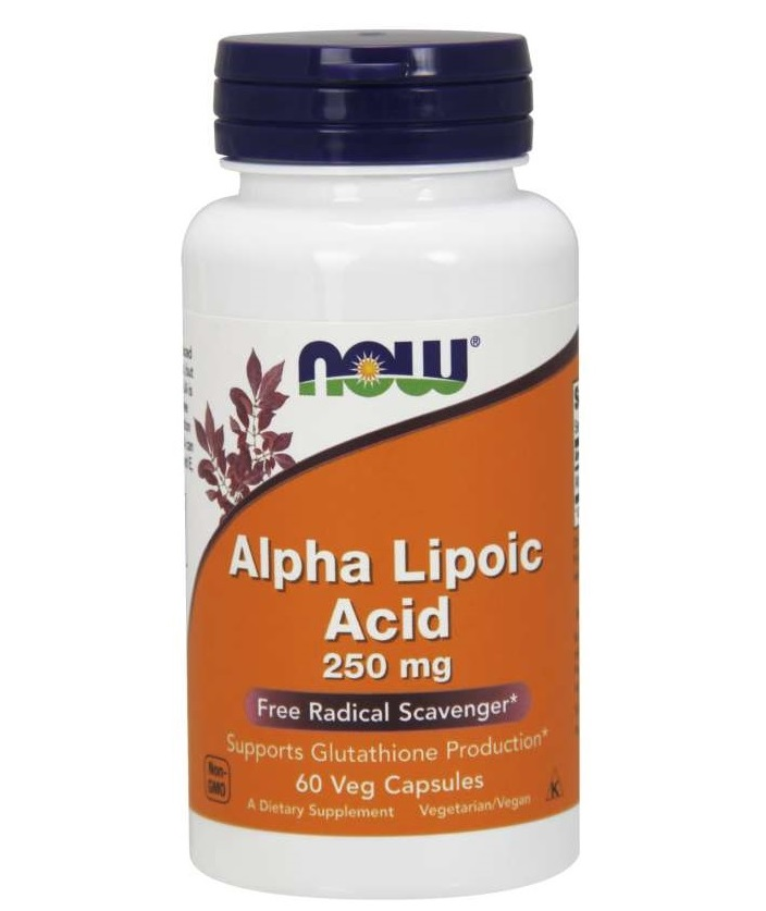 NOW Alpha Lipoic Acid 250mg 60caps