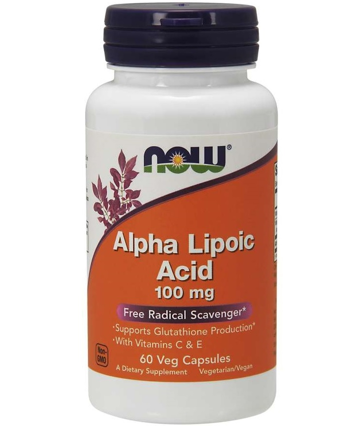 NOW Alpha Lipoic Acid 100mg 60caps