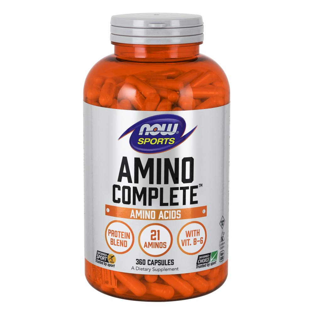 NOW Amino Complete 850mg 360caps