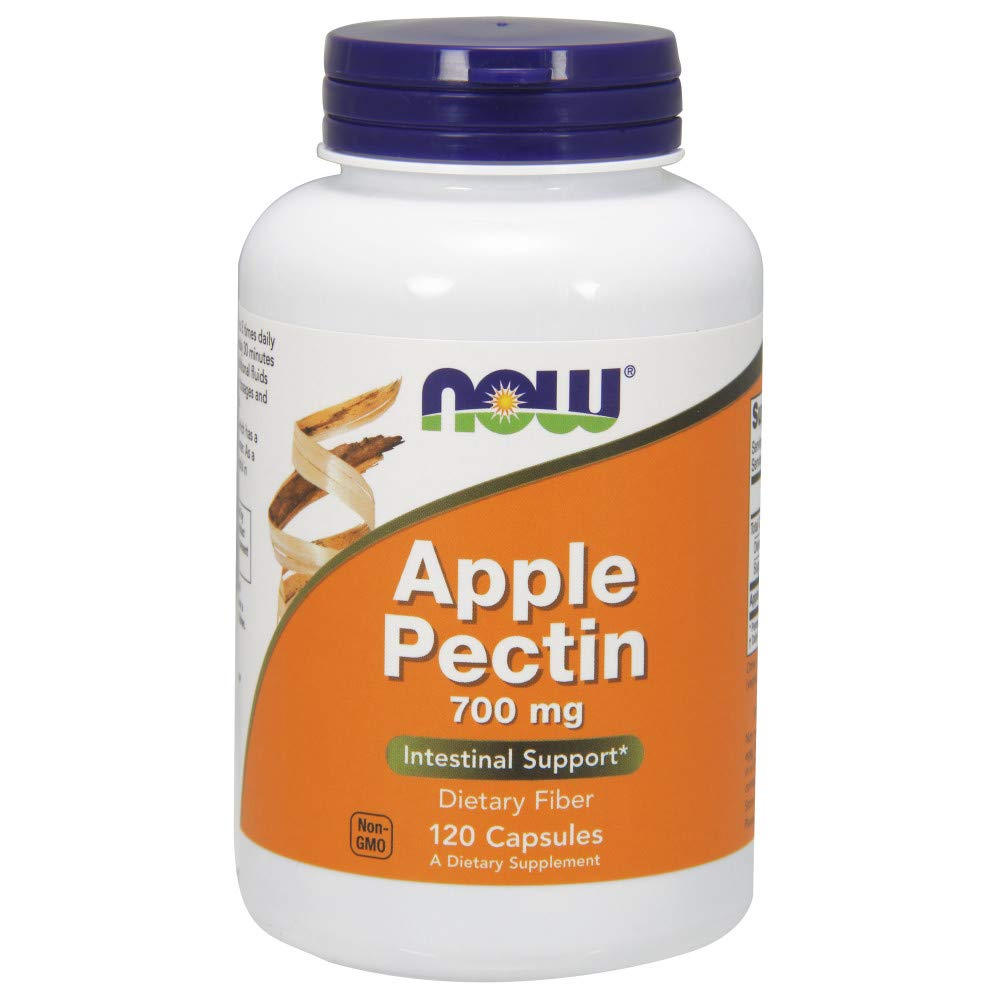 NOW Apple Pectin 700mg 120caps