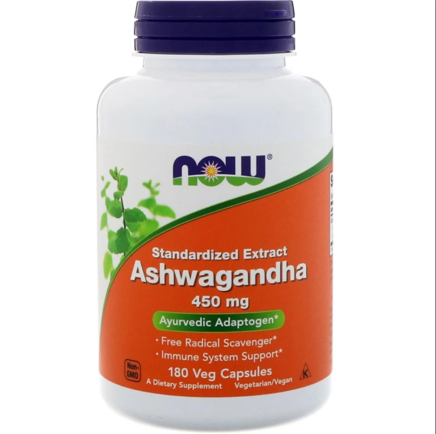NOW Ashwagandha Extract 450mg 180caps