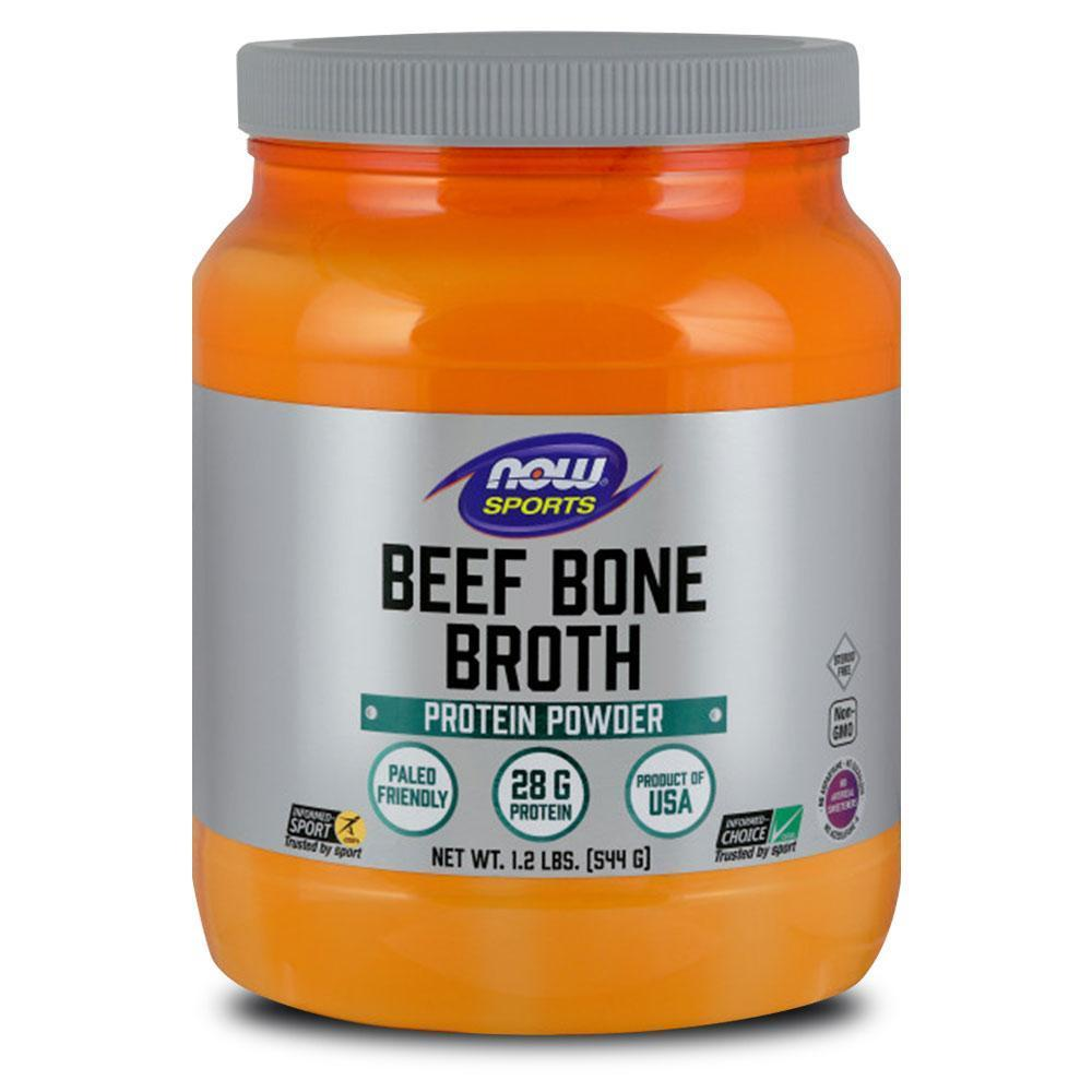 NOW Beef Protein Bone Broth 544g