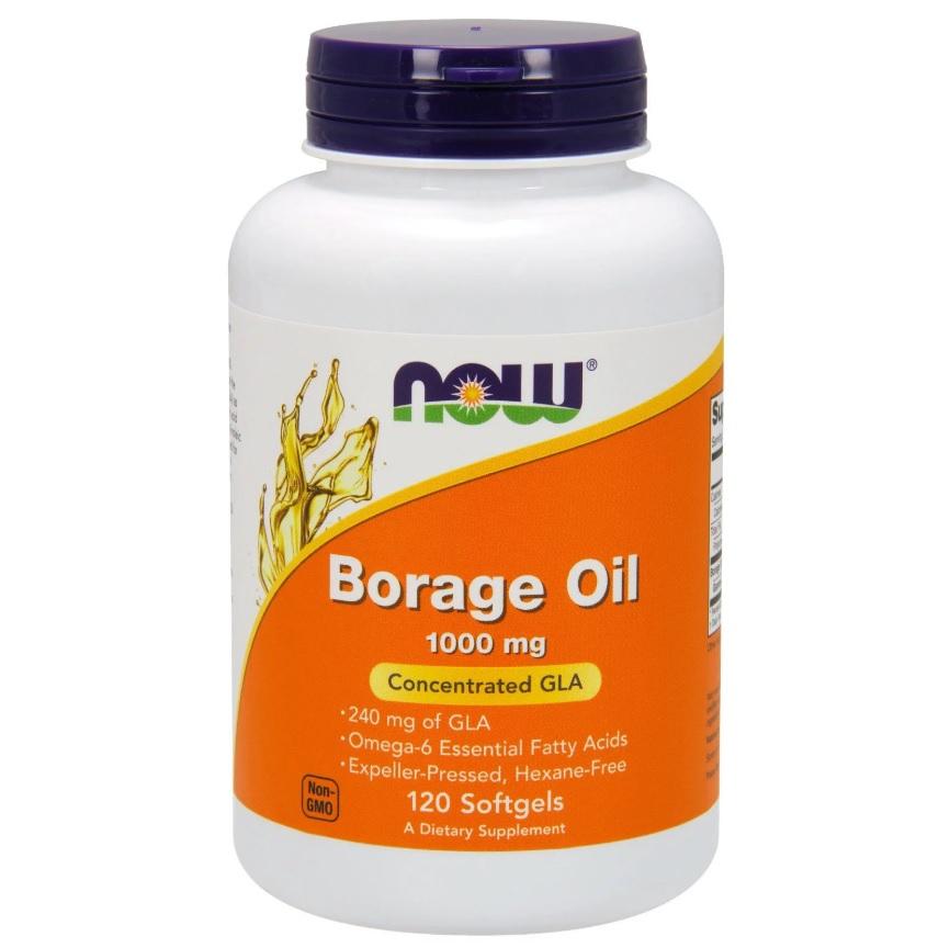 NOW Borage Oil 1050mg 60drops
