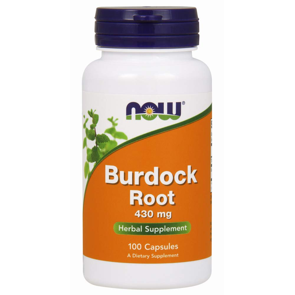 NOW Burdock Root 430mg 100caps