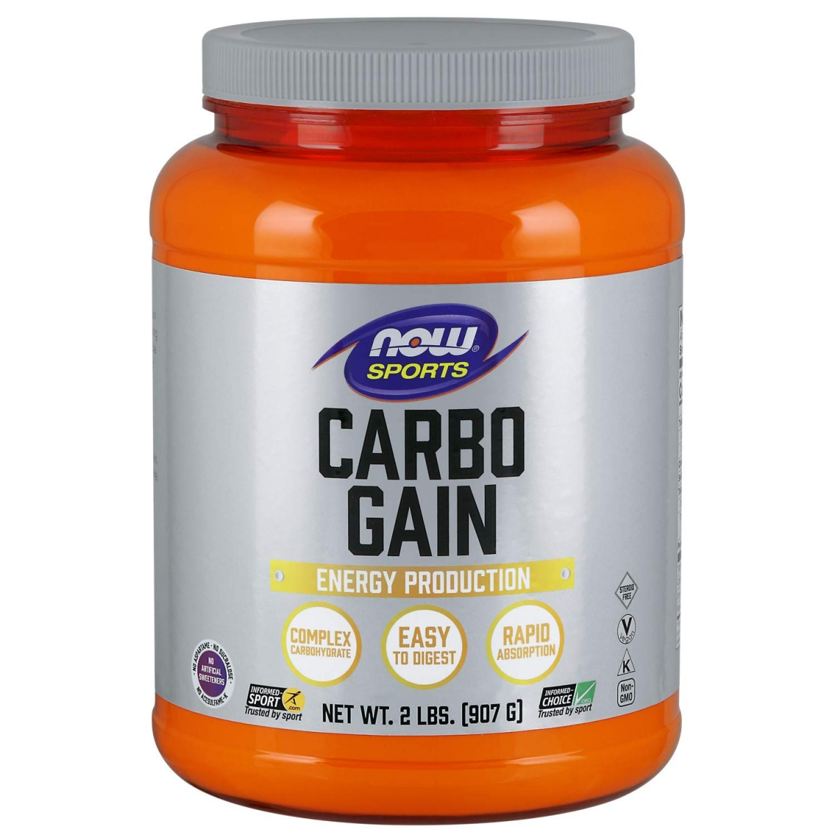 NOW Carbo Gain Complex Carbohydrate 908g