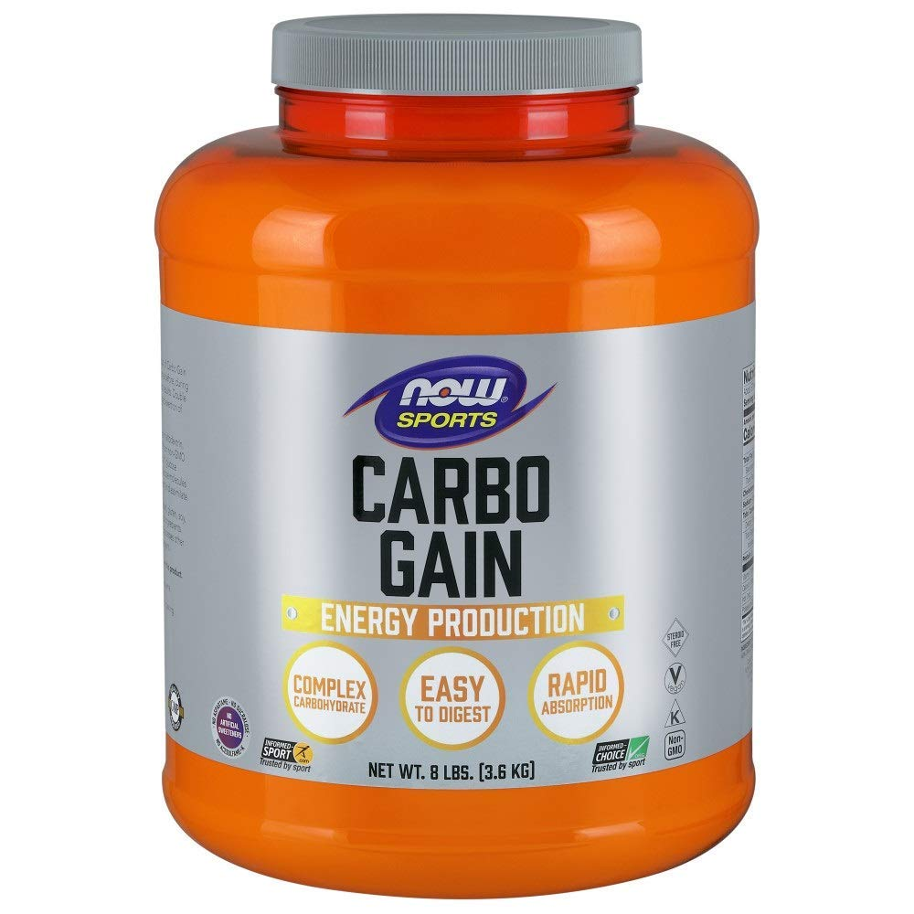 NOW Carbo Gain Complex Carbohydrate 3,6kg