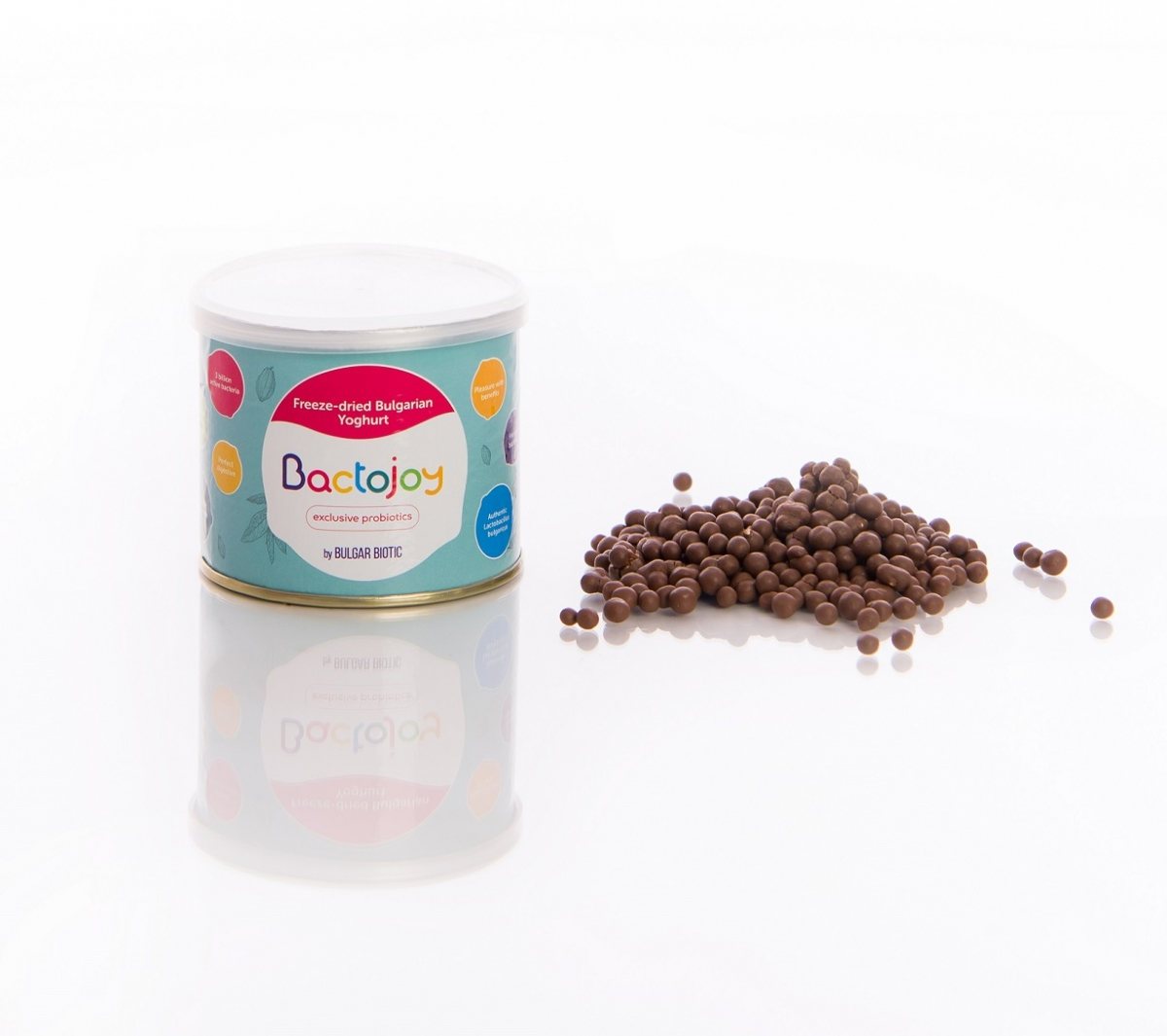 Bactojoy Пробиотични перли с млечен шоколад