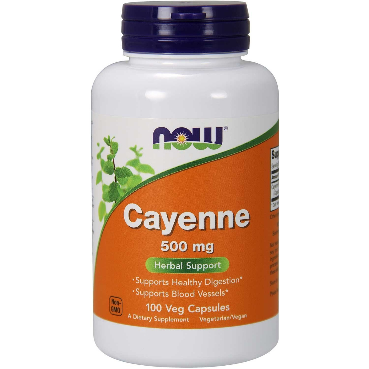 NOW Cayenne 500mg 100caps