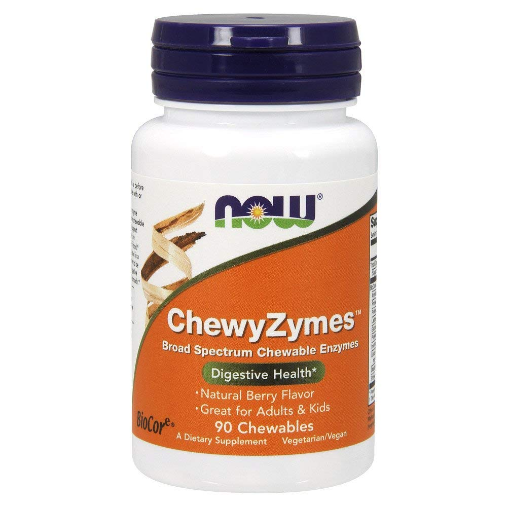 NOW Chewyzymes 90tabs