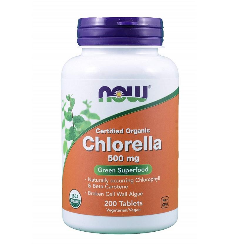 NOW Chlorella 500mg 200tabs