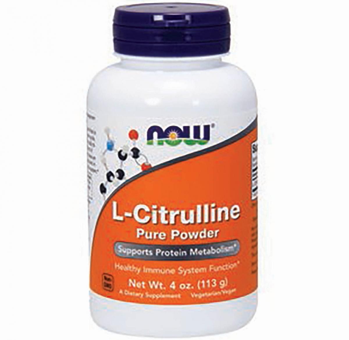 NOW L-citrulline 113,6g