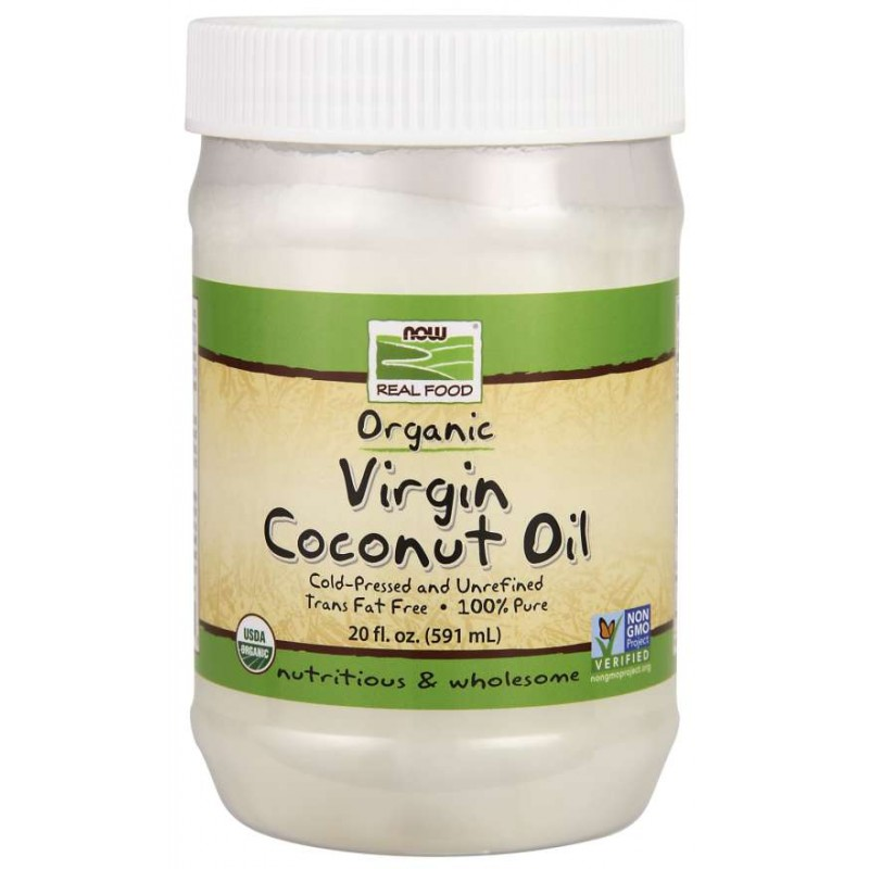 NOW Organic Virgin Coconut Oil 570g