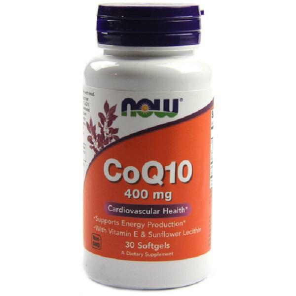 NOW Coq10 400mg 30caps