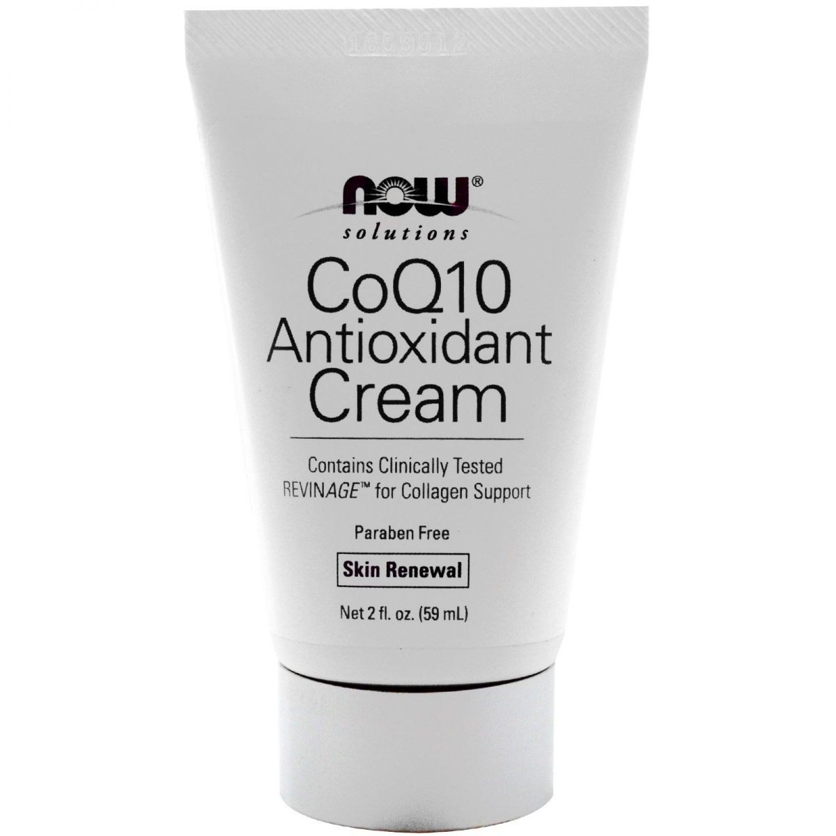 NOW Coq10 Antioxidant Cream 60ml