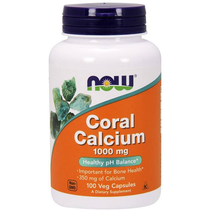 NOW Coral Calcium 1000mg 100caps