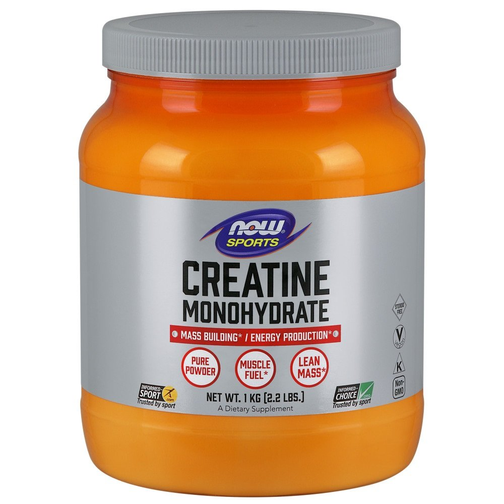 NOW Creatine Monohydrate Powder 1000g
