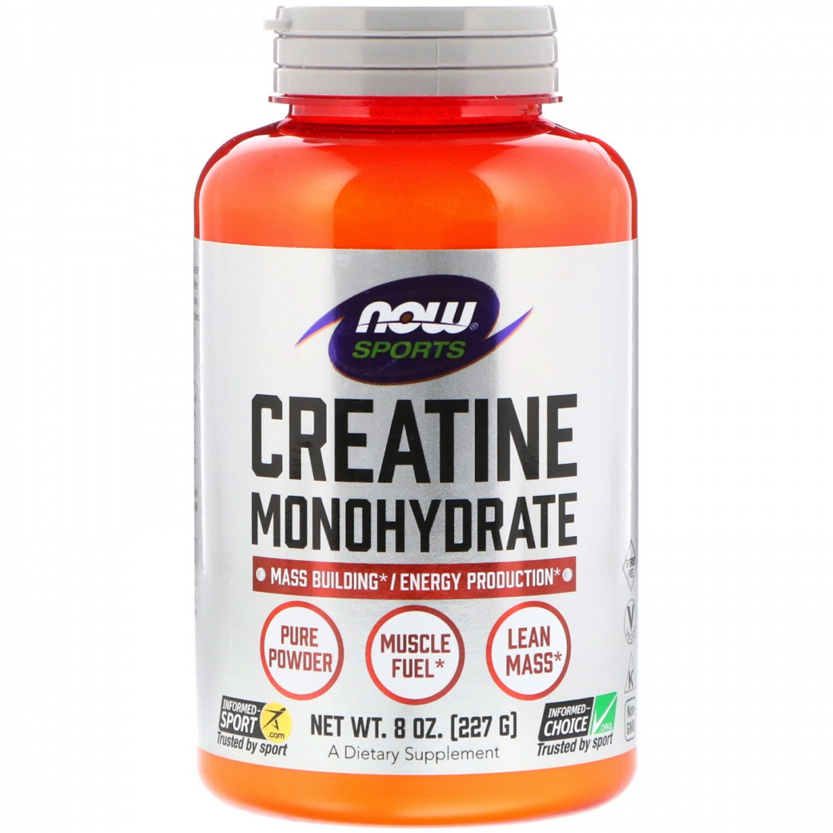 NOW Creatine Monohydrate Powder 227g