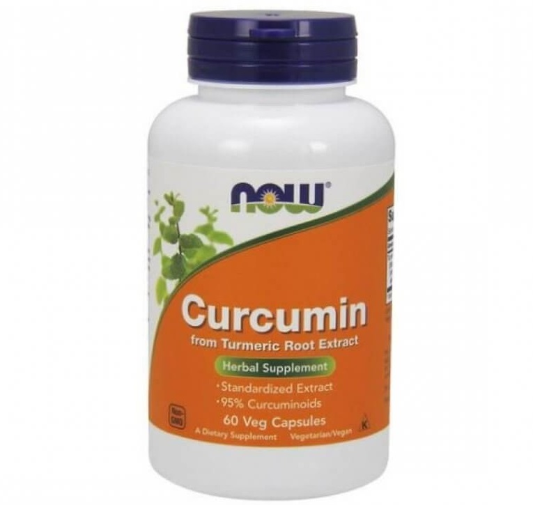 NOW Curcumin 665mg 60caps