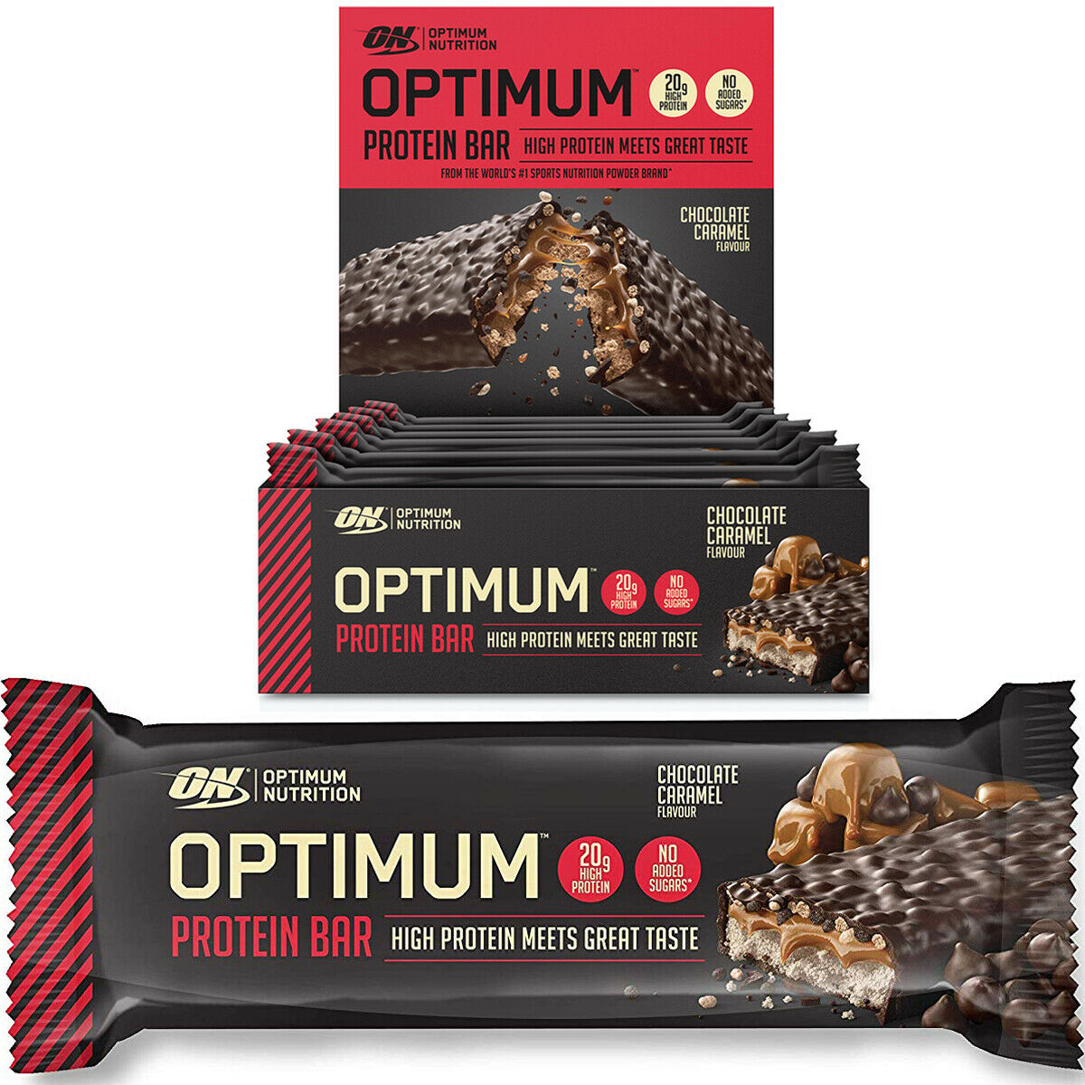 Optimum Nutrition Optimum Protein Bar 10x60g