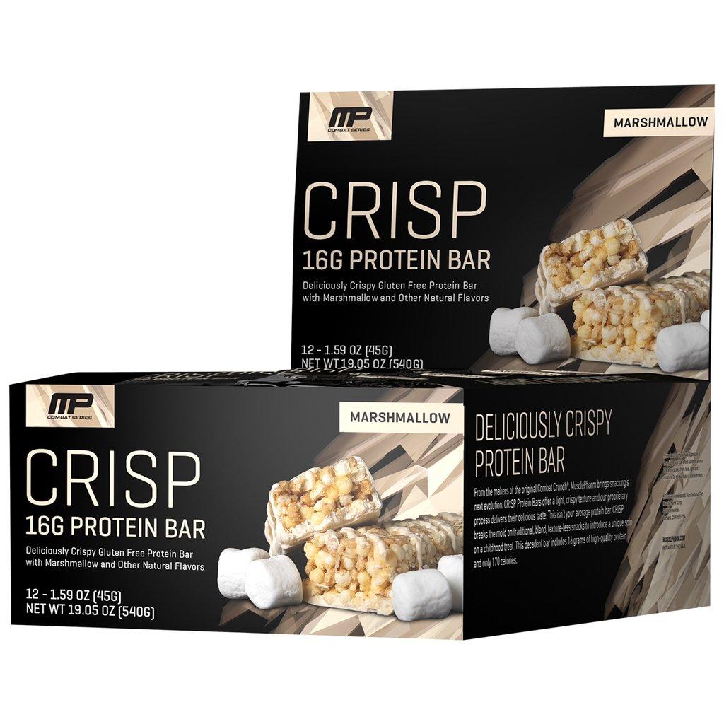 Muscle Pharm Combat Crisp Protein Bar 12x45g
