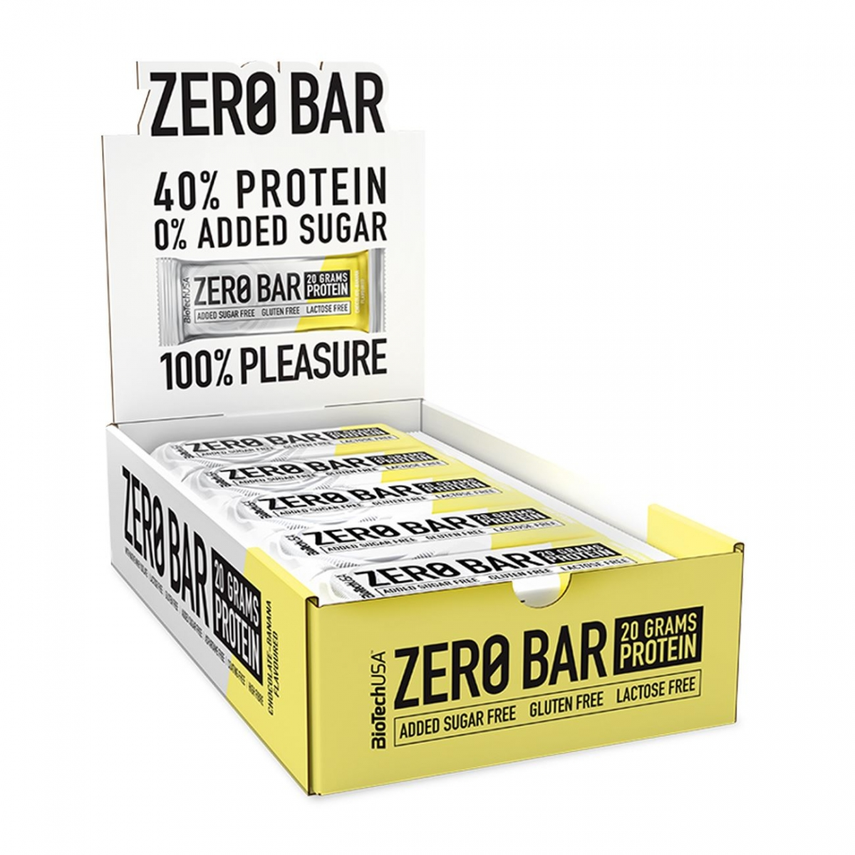 BioTech USA Zero Bar 20x50g
