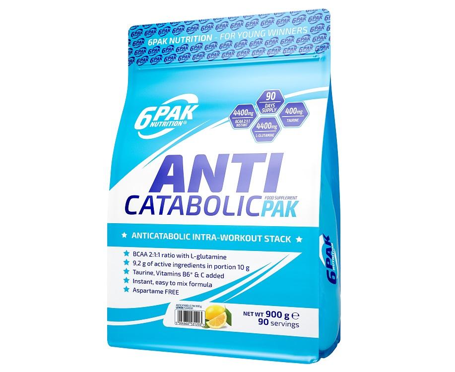 6PAK NUTRITION Anticatabolic Pak 900g (Глутамин и аминокиселини)