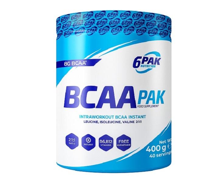 6PAK NUTRITION Bcaa Pak 400g (Аминокиселини)