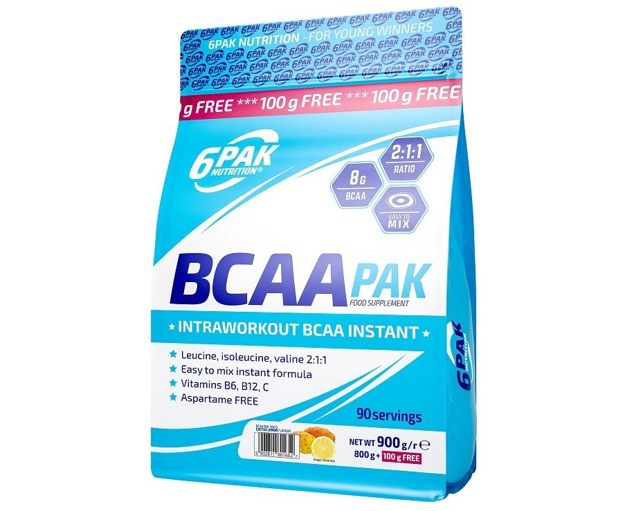 6PAK NUTRITION Bcaa Pak 900g (Аминокиселини)