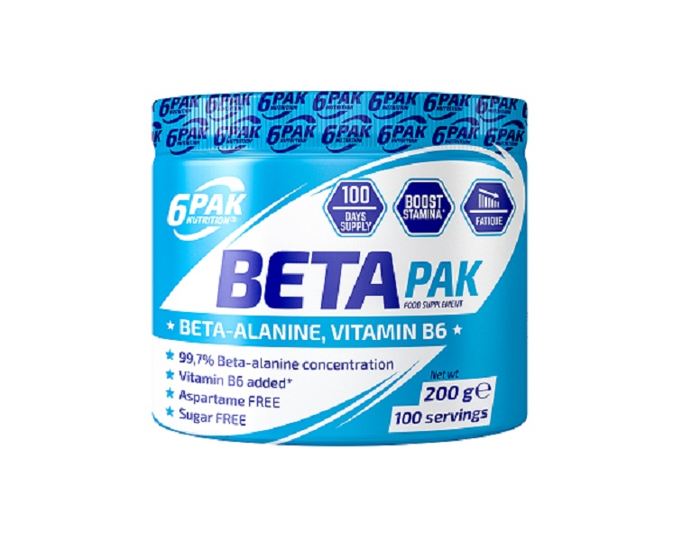 6PAK NUTRITION Beta Pak 200g (Бета-аланин)